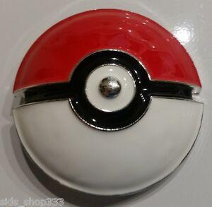 Pokemon go POKE BALL Raised graphics Metal/Enamel BELT BUCKLE great collectible