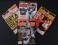 Guitar Player Magazine 1999 Lot of 4 Vintage Back Issues