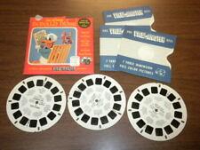 DONALD DUCK WALT DISNEY 1957  (842ABC) Viewmaster 3 reels PACKET SET