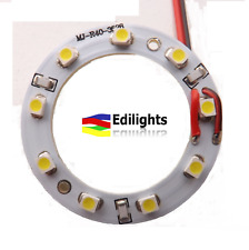 MODULO A CERCHIO RING 40MM 9 LED 3528 24V IP33 COLORE VERDE GREEN