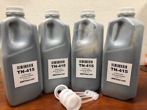 4 (512g) TN-415 Copier Refill Toner for Konica Minolta Bizhub 36, 42 (A202032)