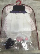 Gotz Doll ~ Purple/white Two Piece Outfit Fit ~ Baby dolls ~ Brand New!