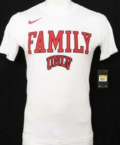 NEW UNLV Las Vegas Rebels White Nike Legend Short Sleeve Tee Shirt Men's XL