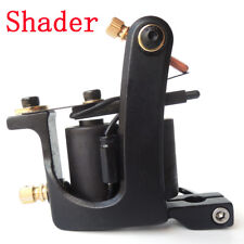 Small U Handmade Tattoo Machine Gun Carbon Steel Shader 10 Coils 34mm US Stock