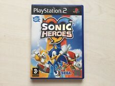 Sonic Heroes PlayStation 2 Game PS2 UK PAL USED
