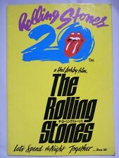 ROLLING STONES Let's Spend the Night Together Japan Program Book 1983 w/chirashi