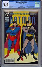 Batman Adventures #25 CGC 9.4 NM Wp DC Comics 1994 Batman & Superman Cover