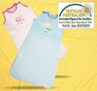 Baby Schlafsack Babyschlafsack Lillebi Kinder Schlafanzug 100% Baumwolle Öko-Tex