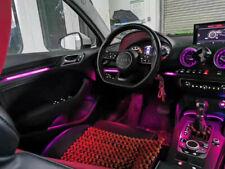 64 color Illuminated Retrofit LED ambient light For Audi A3 S3 RS3 8V 2013-2020
