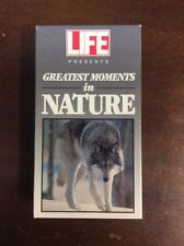 LIFE Presents: Greatest Moments in Nature (VHS,1992) Pre Owned VHSshop.com
