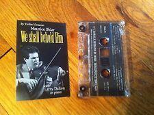 Maurice Sklar We Shall Behold Him Violin Virtuoso Larry Dalton Piano Cassette