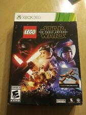 LEGO Star Wars: The Force Awakens Xbox 360 with X-wing Lego kit Never Used