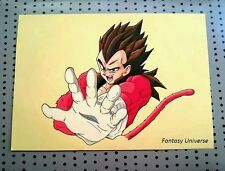 Vegeta, Dragon ball Z. Original artwork. Disegno.