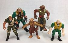 Disney Small Soldiers LOT of 5 Chip Hazard & Ultra Armor Archer Action Figures +