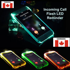 LED Flash Light UP Remind Incoming Call Cover Case For iPhone 5S 6/6S 7 8 Plus