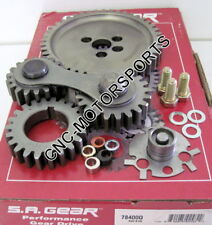 Engine Timing Set S.A. GEAR 78400Q SB Chevy Gear Drive Kit Quiet