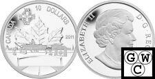 2011 'Highway of Heroes' Proof $10 Silver .9999 Fine (12916)