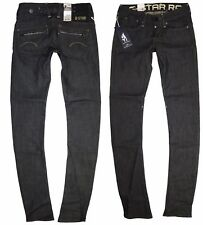 G-Star Womens Jeans W-25 L-34 Corvet Skinny Raw Comfort Care Denim New