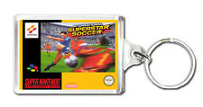 INTERNATIONAL SUPERSTAR SOCCER SNES KEYRING LLAVERO