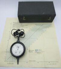 Manual Anemometer hand cup GMC 1972 Bakelite USSR Soviet Vintage Russian