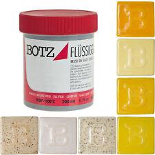 BOTZ Glasur Flüssigglasur - Weiße und Gelbe Töne - 200 ml