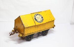 Hornby O Gauge Portland Blue Circle Cement Truck - Vintage Original