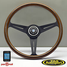 Nardi Steering Wheel ND CLASSIC WOOD Grain Black Spokes 390mm 5051.39.2300