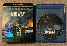 Midway (Blu-Ray Disc ONLY, 2019/2020 + Slipcover/Blank Case) SEE DETAILS!