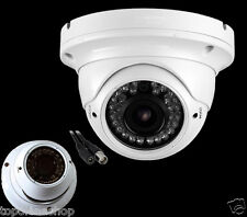 TELECAMERA DOME VARIFOCALE 2.8-12mm CCD SONY ZOOM FOCUS 1000TVL 36 LED AP-6370A