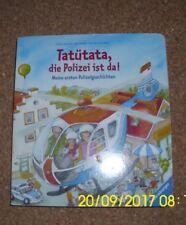 """Kinderbuch aus Pappe """" Rund um die Polizei """" von Ravensburger"""