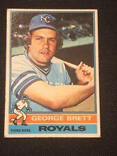 1976 Topps George Brett #19 EX Kansas City Royals HOF *5