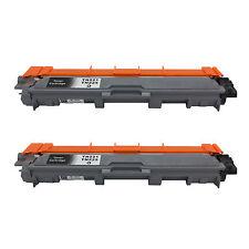 2Pk TN221 BLACK Toner For Brother MFC-9130CW, MFC-9330CDW, MFC-9340CDW