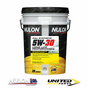 NULON Full Synthetic 5W-30 Long Life Engine Oil 20L for TOYOTA Camry
