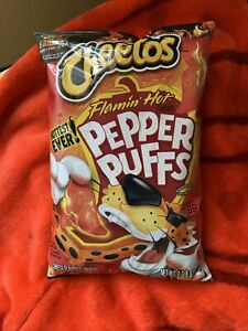 cheetos hot pepper puffs
