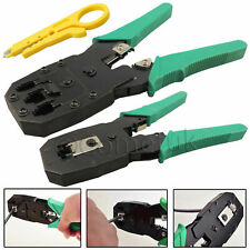 RJ45 Cat5e Cat6 Cat7 RJ11 Network Cable Crimper Ethernet Crimping Tool Stripper