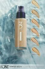Oriflame THE ONE Aqua Boost Foundation, SPF 20 - Porcelain, 30ml New