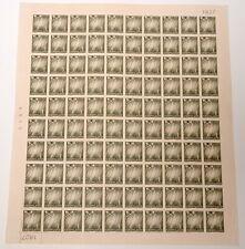 Greenland #4 Northern Lights Crossed Anchors Stamp Postage Sheet 1963 Mint Nh Og