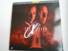 THE X FILES LASERDISC 2 discs widescreen NTSC