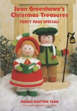 Jean Greenhowe's Christmas Treasures Knitting Pattern Booklet - 40 page special
