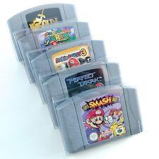 Protectores De Cartucho Para Nintendo 64 N64 Game Paks fuerte y liviana (5 Pack)