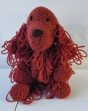 Kylie the Irish red setter  Amigurumi handmade soft crochet toy