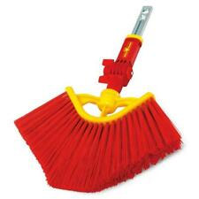 Wolf-Garten Multi-Change Angle Broom Brush Cleaning Tool Replacement Head - Red