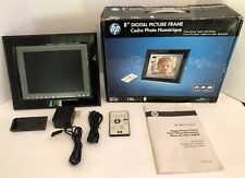 HP 8 Inch Digital Picture Frame 128mb Internal Memory Plus Remote