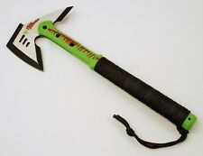 New Green Tactical Tomahawk Axe Hatchet Zombie Killer Multi Tool With Sheath