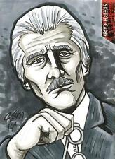 Dr Doctor Who Daleks 2150AD Sketch Card by Kevin Meinert of The Doctor / glasses