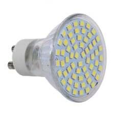 10X 5W GU10 60 3528 SMD LED weiss 6500K Spot-Licht Gluehlampe-Lampen 220V Neu GY