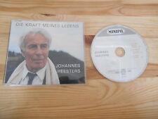 CD Schlager Johannes Heesters - Die Kraft meines Lebens (3 Song) MCD MONOPOL