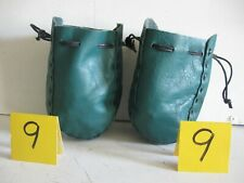 New listing Auction Lot 99 A Pair Of Two Small Teal Green Small Grab Bags 05032021