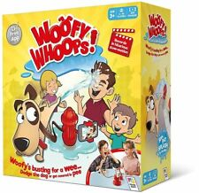 WOOFY WHOOPS! THE HILARIOUS FAMILY GAME FOR AGES 3+ BRAND NEW! DODGE THE SPRAY!