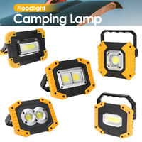 LED Floodlight Rechargeable Outdoor Working Light Camping Lamp Spotlight Lantern